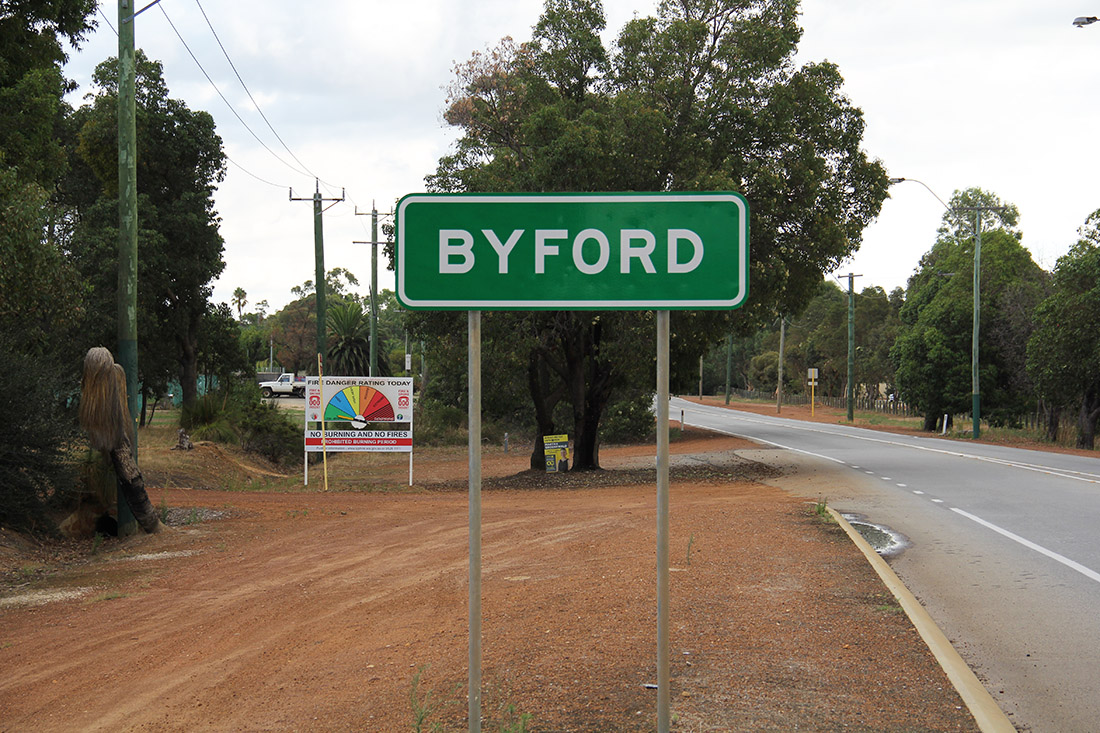 Old Byford Sign